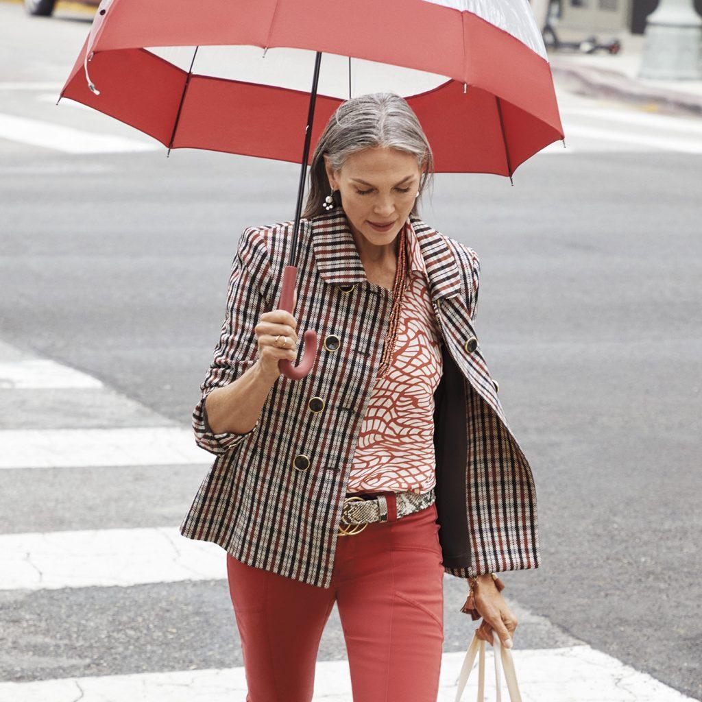 mature stylish lady